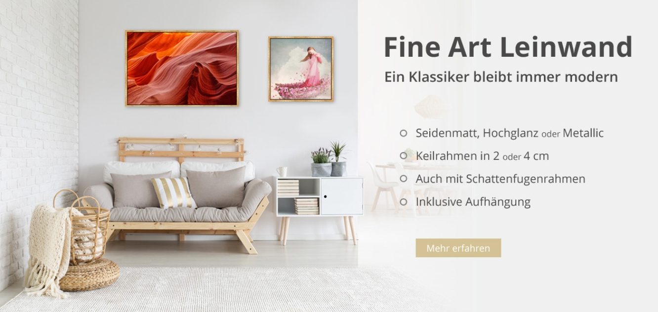 eigenes bild auf leinwand drucken foto als tapete ka. Black Bedroom Furniture Sets. Home Design Ideas