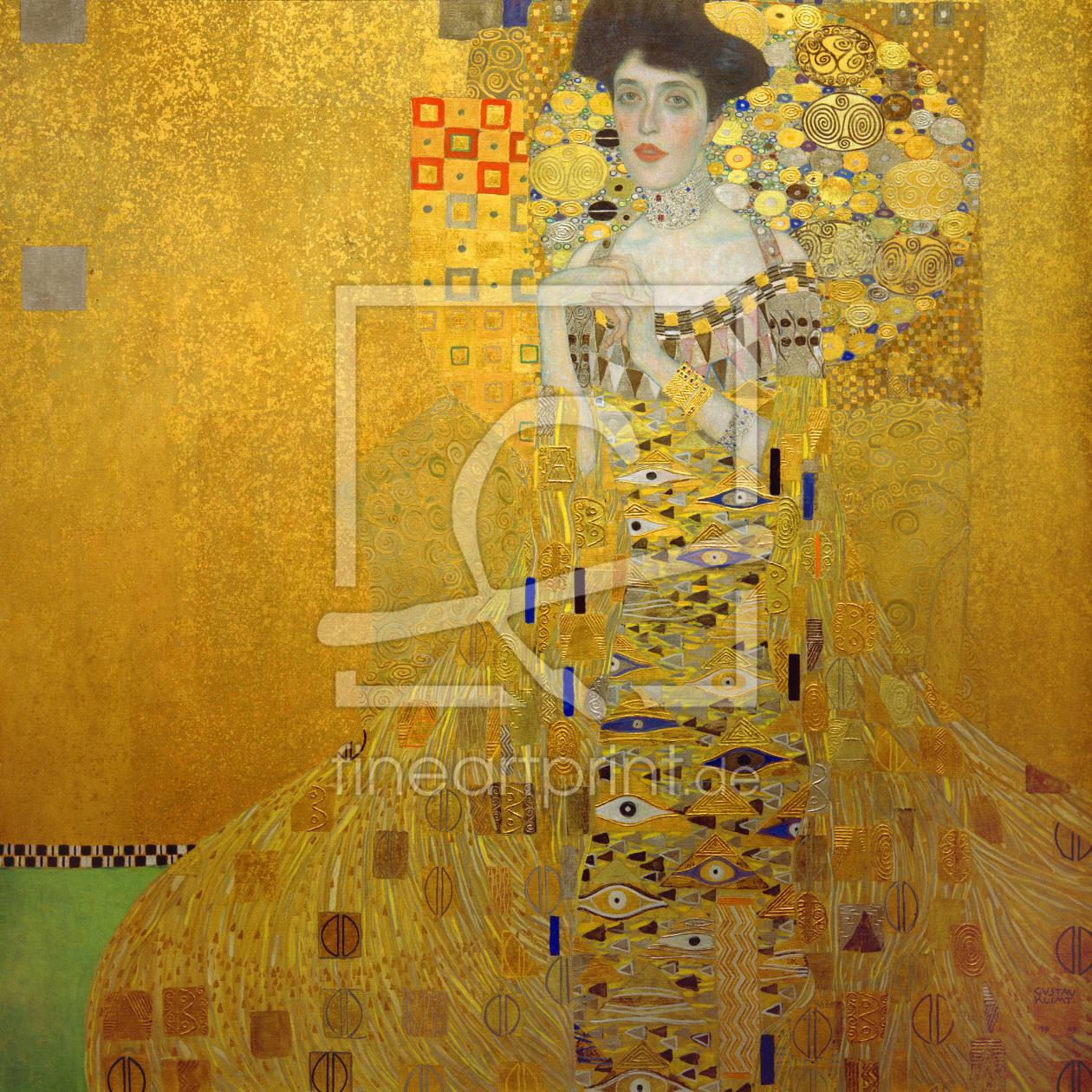 Gustav Klimt Adele Bloch-Bauer I as a acryl print 30...