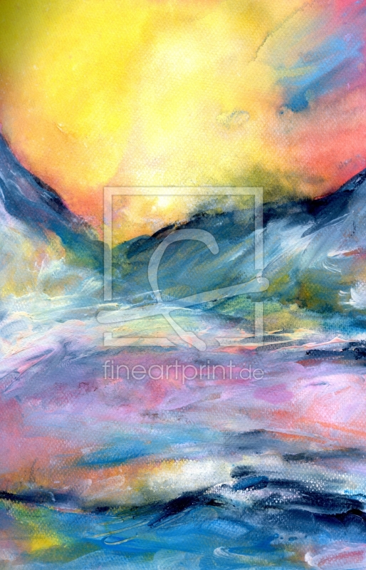 freely selectable image excerpt for your image on Alu-Dibond