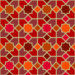 Picture no: 9001553 Marokko Rot Created by: patterndesigns-com