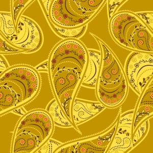Picture no: 9001975 Goldrausch Der Paisley Created by: patterndesigns-com