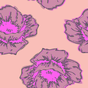 Picture no: 9002175 Poppy Art Created by: patterndesigns-com