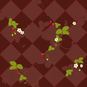 Picture no: 9002464 Walderdbeeren Created by: patterndesigns-com