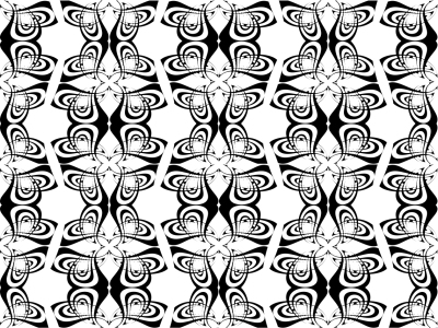 Picture no: 9003159 Schwarzweiß Abstrakt Created by: patterndesigns-com