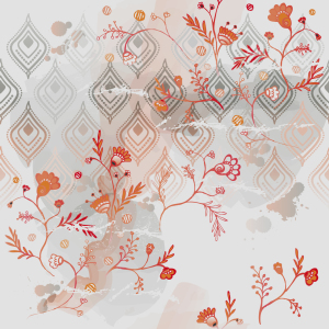 Picture no: 9004087 Graue Fantasie Created by: patterndesigns-com