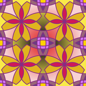 Picture no: 9004546 Metro Floral Color Created by: patterndesigns-com
