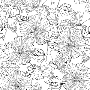 Picture no: 9004950 Schöner Hibiscus Created by: patterndesigns-com