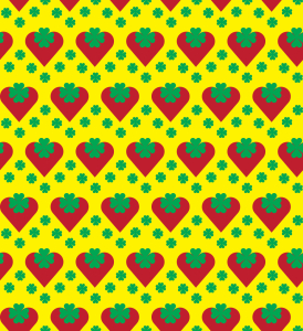 Picture no: 9005013 Herzige Erdbeeren Created by: patterndesigns-com