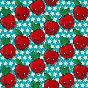 Picture no: 9005125 Star Apfel Created by: patterndesigns-com