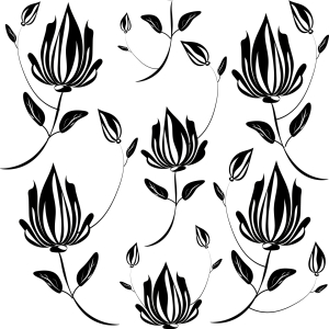 Picture no: 9005306 Magnolie Im Schatten Created by: patterndesigns-com