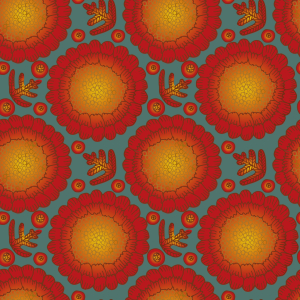 Picture no: 9005644 Tagetes Blumen Created by: patterndesigns-com