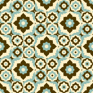 Picture no: 9006037 Blumen Im Retro Winter Created by: patterndesigns-com