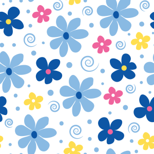 Picture no: 9006347 Blumen Freude Created by: patterndesigns-com