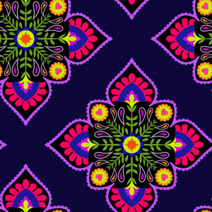 Picture no: 9006574 Folklore Zum Quadrat Created by: patterndesigns-com