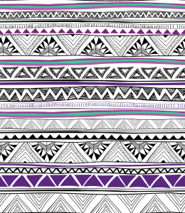 Picture no: 9006637 Ethno Chevron Created by: patterndesigns-com