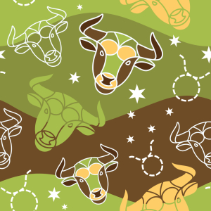 Picture no: 9006731 Im Sternzeichen Stier Created by: patterndesigns-com