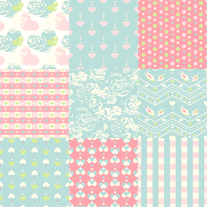 Picture no: 9006958 Patchwork Liebe Created by: patterndesigns-com
