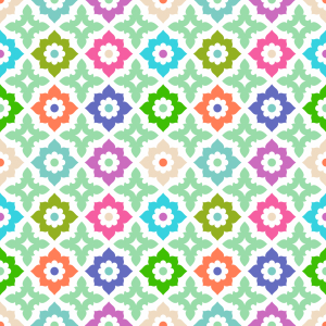 Picture no: 9007080 Geordnete Blumen Created by: patterndesigns-com