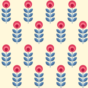 Picture no: 9007339 Folklore Blumenkinder Created by: patterndesigns-com