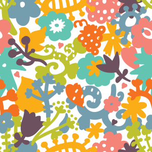 Picture no: 9007654 Floraler Mikrokosmos Created by: patterndesigns-com