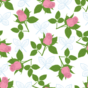 Picture no: 9007868 Es Regnet Rosen Created by: patterndesigns-com