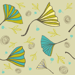 Picture no: 9007896 Ginkgo Biloba Created by: patterndesigns-com