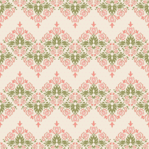 Picture no: 9008131 Vintage Floral Damast Created by: patterndesigns-com