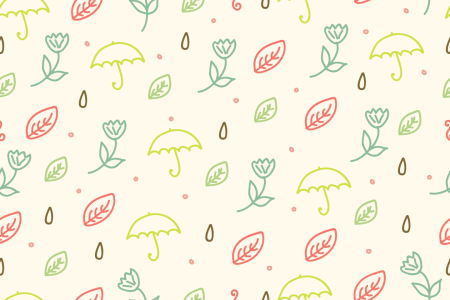 Picture no: 9008440 Frühlings Regen Created by: patterndesigns-com