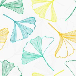 Picture no: 9008958 Fallende Ginkgo Blätter Created by: patterndesigns-com