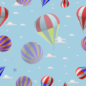 Picture no: 9009069 Heissluftballonfahrt In den Wolken Created by: patterndesigns-com