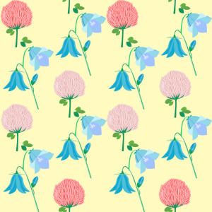 Picture no: 9009074 Sommer Wildblumen Created by: patterndesigns-com