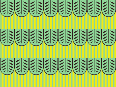 Picture no: 9009103 Exotische Blätter Created by: patterndesigns-com