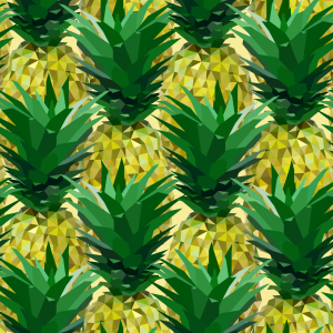 Picture no: 9009488 Geometrische Ananas Created by: patterndesigns-com