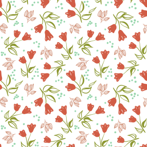 Picture no: 9009629 Verstreute Tulpen Created by: patterndesigns-com