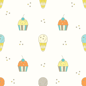 Picture no: 9009685 Muffin und Eis Created by: patterndesigns-com