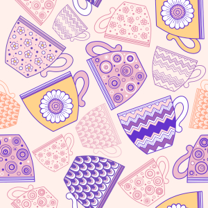 Picture no: 9009687 Tasse Kaffee oder Tee Created by: patterndesigns-com