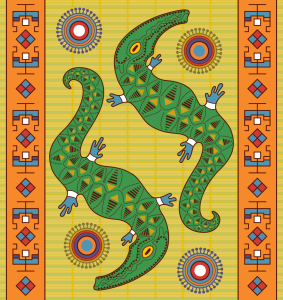 Picture no: 9009693 Krokodil Traum Created by: patterndesigns-com