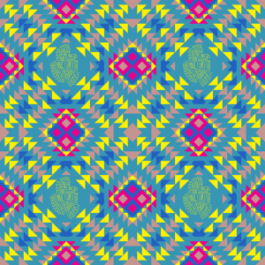 Picture no: 9009738 Mexikanische Art Created by: patterndesigns-com