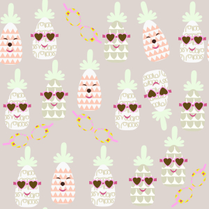 Picture no: 9009805 Ananas Im Sommer Created by: patterndesigns-com