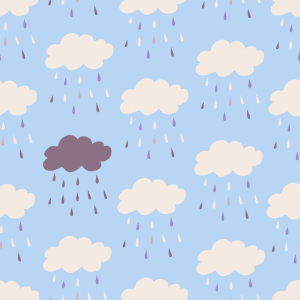 Picture no: 9009891 Wolkenbruch Created by: patterndesigns-com