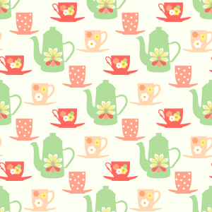 Picture no: 9010098 Sweet Sixties Tea Time Created by: patterndesigns-com