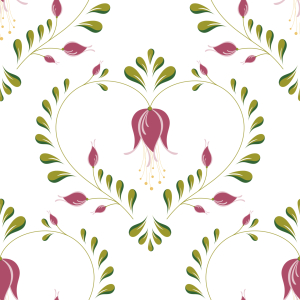 Picture no: 9010359 Zartes Blumenherz Created by: patterndesigns-com