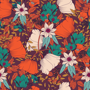 Picture no: 9010413 Herbst-Blumenwiese Created by: patterndesigns-com