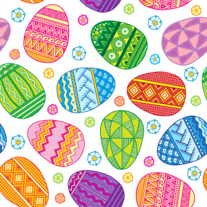 Picture no: 9010566 Bunte Ostern Created by: patterndesigns-com