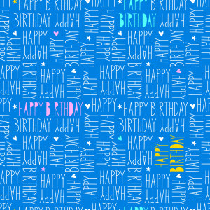 Picture no: 9010759 Happy Birthday Schriftzug Created by: patterndesigns-com