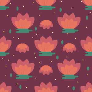 Picture no: 9011364 Minimaler Lotus Created by: patterndesigns-com