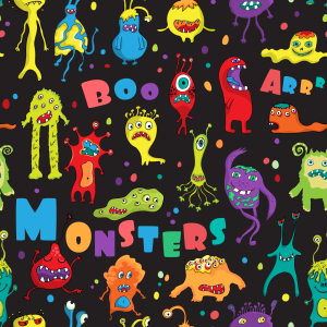 Picture no: 9011367 Monster-Party Created by: patterndesigns-com