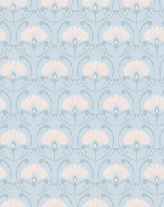 Picture no: 9011467 Jugendstil Fächer Created by: patterndesigns-com