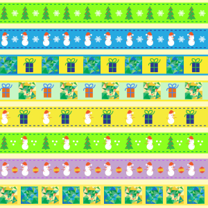 Picture no: 9011604 Weihnachten In Funky Town Created by: patterndesigns-com