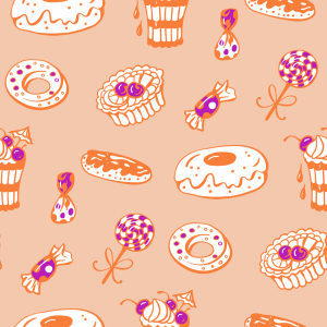 Picture no: 9011932 Zuckersüße Bäckerei Created by: patterndesigns-com
